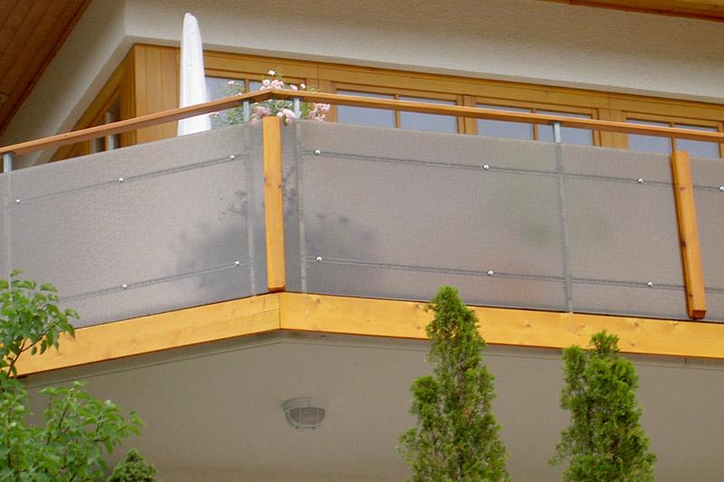 Super Plexiglas Gebele | Füllungen für Treppengeländer und Balkon TN76